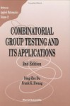 Combinatorial Group Testing and Its Applications (2nd Edition) - Ding-Zhu Du, Frank K. Hwang