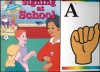 Signing At School w/ Flash Cards [Beginning Sign Language Series] - S. Harold Collins