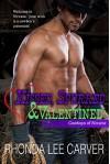 Kissed, Spurred, & Valentined (Cowboys of Nirvana Book 4) - Rhonda Lee Carver