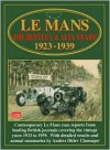 Le Mans 'The Bentley & Alfa Years' 1923-39 - R.M. Clarke, Anders Clausager, Anders Ditlev Clausager