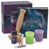 Massage Book And Box Set (Including Three Small Vials of Massage Oils -Ylang Ylang, Lavender and Geranium; a Bottle of Carrier Oil; 2 Scented Candles; and a Massage Roller - Mike Dowling