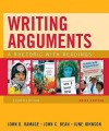 Writing Arguments, Brief Edition: A Rhetoric with Readings (8th Edition) - John D. Ramage, John C. Bean, June Johnson