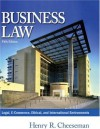 Business Law, Fifth Edition - Henry R. Cheeseman