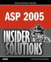 Asp 2005 Insider Solutions - Alex Homer, David Sussman