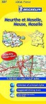 Michelin Map France: Meurthe Et Moselle, Meuse, Moselle 307 - Michelin Travel Publications