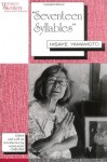'Seventeen Syllables': Hisaye Yamamoto (Women Writers: Texts and Contexts) - King-Kok Cheung