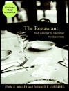The Restaurant: From Concept to Operation, Third Edition and Nraef Workbook Package - John R. Walker, Donald E. Lundberg, National Restaurant Association