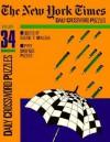 New York Times Daily Crossword Puzzles, Volume 34 - Eugene Maleska