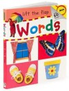 Words, Lift the Flap (Words) - Andrew Burgess, Hinkler Books