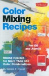 Color Mixing Recipe Cards for Oils & Acrylics - William F. Powell