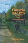 Ontario 1610-1985 - Randall White