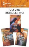 Harlequin Superromance July 2013 - Bundle 1 of 2: Betting on the CowboyOne-Night AlibiThe Ranch Solution - Kathleen O'Brien, Kara Lennox, Julianna Morris