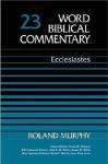 Ecclesiastes - Roland Edmund Murphy