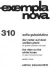 Sofia Gubaidulina - The Rider on the White Horse: For Large Orchestra and Organ Full Score - Sofia Gubaidulina