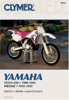 Yamaha Yz125-250, 1988-1993/Wr250z, 1991-1993: Service, Repair, Maintenance - Clymer Publishing