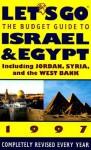 Let's Go Israel & Egypt 1997 - Let's Go Inc.