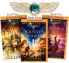 Rick Riordan's The Kane Chronicles (Bundle): The Red Pyramid, The Throne of Fire, The Serpent's Shadow - Rick Riordan, Kevin R. Free, Katherine Kellgren