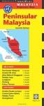 Peninsular Malaysia Travel Map Seventh Edition - Periplus Editions