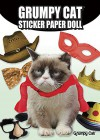 Grumpy Cat Sticker Paper Doll - Grumpy Cat, David Cutting
