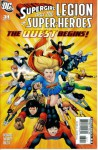 Supergirl and the Legion of Super-Heroes #31 : The Quest for Cosmic Boy Prologue (DC Comics) - Tony Bedard, Kevin Sharpe
