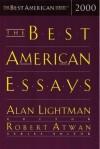The Best American Essays 2000 - Robert Atwan
