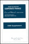 Brudney and Chirelstein's Cases and Materials on Corporate Finance: 1999 Supplement - Victor Brudney, William W. Bratton