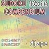 Sudoku 16x16 Compendium - djape