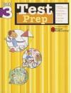 Test Prep: Grade 3 (Flash Kids Harcourt Family Learning) - Flash Kids Editors