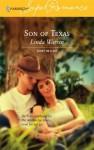 Son Of Texas: Count On A Cop - Linda Warren