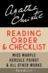Agatha Christie Reading Order and Checklist: Hercule Poirot series, Miss Marple series, Tommy and Tuppence, plus all other books and short stories (Series List Book 19) - Readlist, Steven Sumner