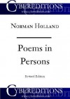 Poems in Persons: A Psychology of the Literary Process - Norman Norwood Holland