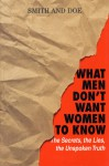 What Men Don't Want Women To Know: The Secrets, The Lies, The Unspoken Truth - Mike Smith
