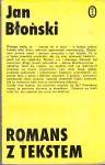 Romans z tekstem - Jan Błoński