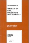 2003 Supplement to the Law of Civil Procedure (American Casebook) - Joel W. Friedman, Michael G. Collins