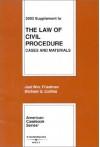 2003 Supplement to the Law of Civil Procedure (American Casebook) - Joel W. Friedman, Michael G. Collins
