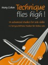 Technique Flies High!: 14 Advanced Studies for Solo Violin - Mary Cohen