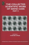 The Collected Scientific Work of David Cass: Part C - Stephen Spear