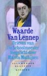Waarde Van Lennep: Brieven Van De Schoolmeester - Gerrit van de Linde, Marita Mathijsen