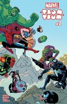 Marvel Tsum Tsum (2016) #1 (of 4) - David Baldeón, Jacob Chabot, Chris Samnee