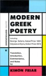 Modern Greek Poetry - Kimon Friar