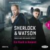 Ein Fluch in Rosarot (Sherlock & Watson - Neues aus der Baker Street 2) - Viviane Koppelmann, Johann von Bülow, Der Audio Verlag, Florian Lukas
