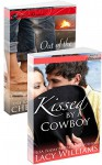 Kissed by a Cowboy / Out of the Flames: a Redbud Press collection (Hometown Romance) - Lacy Williams, Cheryl Wyatt