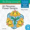 Art Nouveau Flower Designs - Polly Pinder
