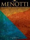 Menotti Arias for Mezzo-Soprano: 8 Arias from 5 Operas - Giancarlo Menotti