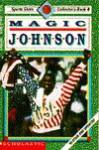 Magic Johnson (Sports Shots Collector's, Book 4) - Chip Lovitt