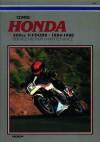 Honda 500cc V-Fours, 1984-1986: Service, Repair, Maintenance - Ed Scott