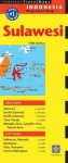 Sulawesi Travel Map Fifth Edition - Periplus Editions