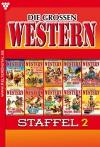 Die großen Western Staffel 2: Die großen Western Staffel 2 (German Edition) - Howard Duff, H.C. Nagel, G.F. Barner, U.H. Wilken, Joe Juhnke, Frank Callahan, Ken Hopkins, H.C. Hollister, J.E. Shane