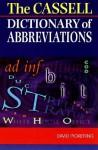 Dictionary Of Abbreviations - David Pickering