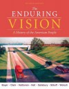 The Enduring Vision: A History of the American People - Paul Boyer, Joseph Kett, Harvard Sitkoff, Neal Salisbury, Clifford Clark, Karen Halttuenen